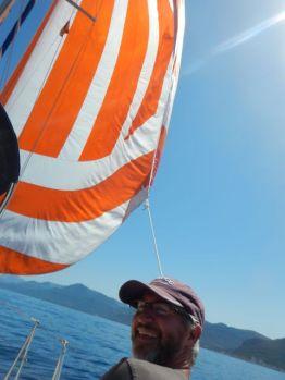 flying the kite!